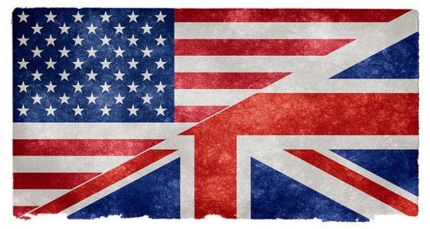 US UK Flags