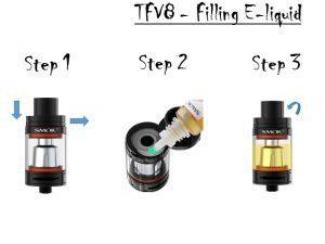 Filling TFV8 Tank