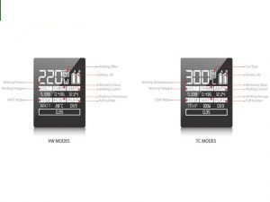 SMOK Alien VW vs TC mode